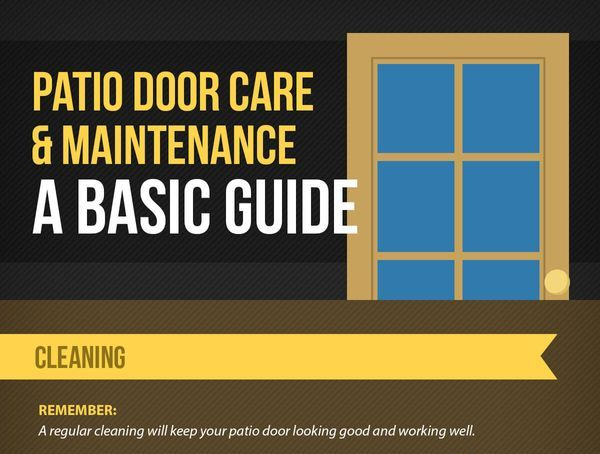 Patio Door Care and Maintenance A Basic Guide